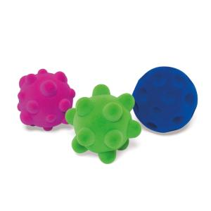 Mini balles sensorielles (lot de 3)