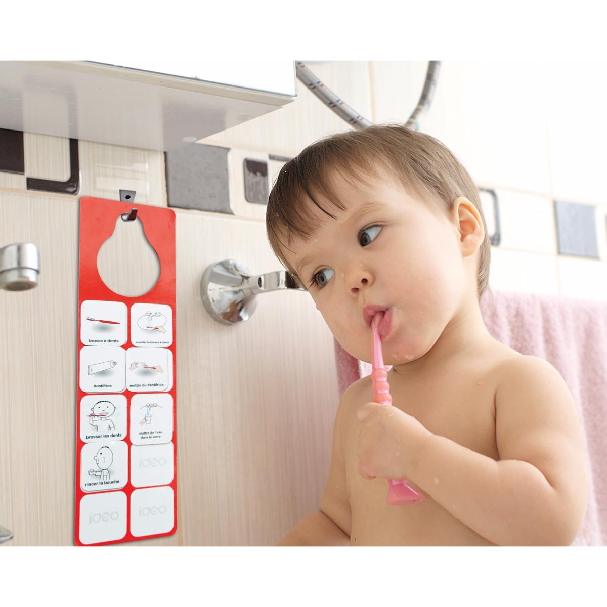 ideoroutine j 39 apprends me brosser les dents. Black Bedroom Furniture Sets. Home Design Ideas