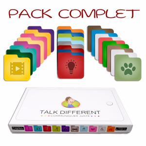 "Pack complet ""Talk different"""
