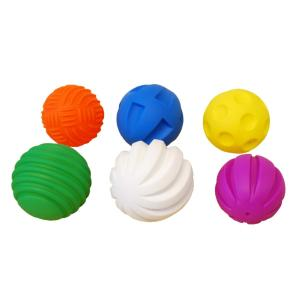 Lot de 6 balles tactiles