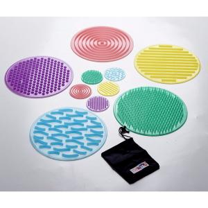 Lot de 10 disques sensoriels